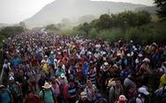 Ông Trump dọa sẽ nổ súng nếu các di dân từ Trung Mỹ ném đá