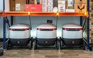 Dịch vụ robot giao hàng đầu tiên trên thế giới ra mắt ở Anh