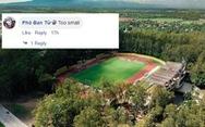 Đội tuyển Philippines bị chế giễu vì đá... 'sân nhỏ'