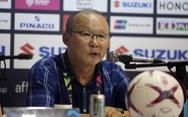 HLV Park Hang Seo không hài lòng với tổ trọng tài