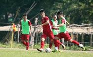 Tuyển VN tranh thủ tập trước khi rời Myanmar