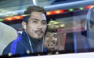 Đội tuyển Campuchia đến Hà Nội