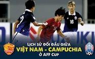 Campuchia là 'kho điểm' của Việt Nam ở AFF Cup