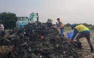 Ít nhất 15.000m3 chất thải đã được đem... san lấp mặt bằng