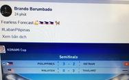 """CĐV Philippines """"chia buồn"""" trước với đội tuyển Việt Nam"""