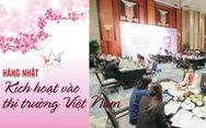 Hàng Nhật kích hoạt vào thị trường Việt Nam