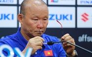 HLV Park Hang Seo: Tôi thất vọng khi chúng ta dẫn trước rồi bị gỡ hòa