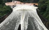 Hồ Phú Ninh tiếp tục xả nước điều tiết lũ