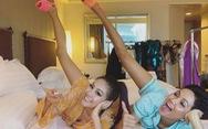 Livestream với hoa hậu Hàn Quốc, H'Hen Niê gây 'sốt' vì... dễ thương