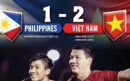 Thống kê trận Philippines - VN: Việt Nam áp đảo về số cơ hội
