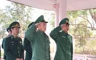 Chiến sĩ biên phòng Mường Lạn dâng hương tưởng nhớ anh hùng liệt sĩ
