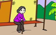 Gửi người thương: Bóng mẹ trước hiên nhà che chở đời con