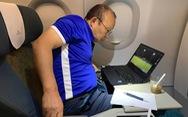 Ông Park nghiên cứu Philippines ngay trên máy bay về Hà Nội