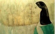 Lần đầu được ngắm cả bộ tranh của nhạc sĩ Trịnh Công Sơn