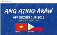 Dân lẫn cầu thủ Philippines: 'Phép mầu Hà Nội 2.0' sắp diễn ra ở Mỹ Đình!