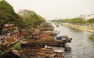 Hoa xuân Bình Đông trên bến dưới thuyền tấp nập sông nước Sài Gòn