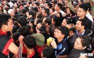 Dừng phát thẻ ấn đền thờ Quang Trung vào mùng 5 tết