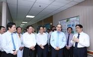 Lãnh đạo TP.HCM chúc mừng ngày thầy thuốc VN 27-2