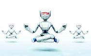 Chuyện robot dạy ngồi thiền