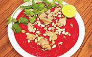 Bộ Y tế cảnh báo nguy cơ mất tết vì món tiết canh
