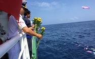 Tưởng niệm Gạc Ma trên biển Hoàng Sa