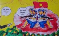 Hai nữ sinh dành bảy tháng vẽ truyện tranh lịch sử về Gạc Ma