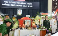Lịch trình di quan linh cữu nguyên Thủ tướng Phan Văn Khải