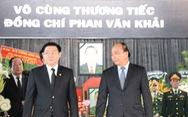Thủ tướng Nguyễn Xuân Phúc đến viếng cố Thủ tướng Phan Văn Khải