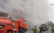 Nhiều người hoảng loạn khi chung cư Carina bất ngờ cháy lại