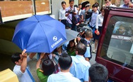 Toàn cảnh công an khám xét, bắt 2 nhân viên Eximbank TP.HCM