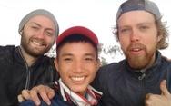 Gác việc học một năm để đi bộ xuyên Việt