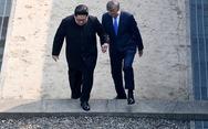 Video ông Kim Jong Un mời Tổng thống Hàn Quốc bước qua đất Triều Tiên