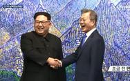 Giây phút lịch sử trên bán đảo Triều Tiên