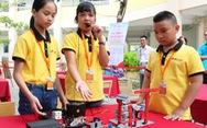 Mô hình xử lý rác của học trò tiểu học thắng giải Robotacon
