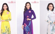 Thí sinh Hoa hậu Việt Nam duyên dáng trong tà áo dài
