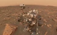 Tàu thăm dò NASA chụp ảnh selfie giữa bão cát sao Hỏa
