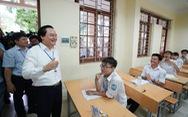 Bộ trưởng Phùng Xuân Nhạ nhắc thí sinh thi 'đúng quy chế'