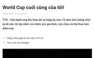 World Cup trong mắt tôi: Thư gửi anh Nam