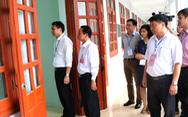 Thứ trưởng Bộ GD-ĐT thăm, động viên thí sinh vùng tâm lũ Hà Giang