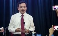 Bộ GD-ĐT họp báo: đề thi THPT quốc gia không đánh đố thí sinh