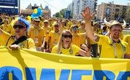 Cổ vũ kiểu Thụy Điển tại World Cup 2018