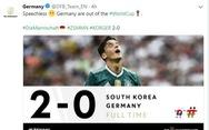 Tuyển Đức 'thống trị' mạng xã hội sau khi bị loại khỏi World Cup