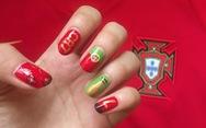 10 bộ nail cực chất cổ vũ vòng 1/8 World Cup