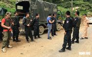 Lóng Luông vẫn 'nóng' cuộc vây bắt 2 đối tượng cố thủ trong hầm