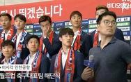 Các 'Oppa' tuyển Hàn Quốc bị fan ném trứng sống khi về nước