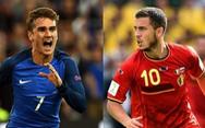 Bỉ áp đảo Pháp về thành tích đối đầu