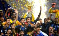 Những hình ảnh ấn tượng nhất đêm chung kết Croatia - Pháp