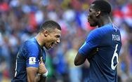 Truy dấu biệt hiệu Áo Lam của đội Pháp