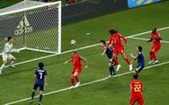Bỉ hạ Nhật phút chót trong hiệp hai có 5 bàn thắng