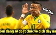 Dân mạng phát cuồng khi Neymar phá lời nguyền World Cup